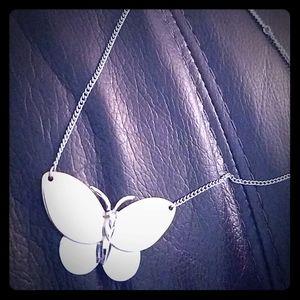 Avon butterfly necklace